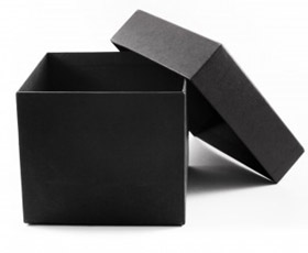 Black card box